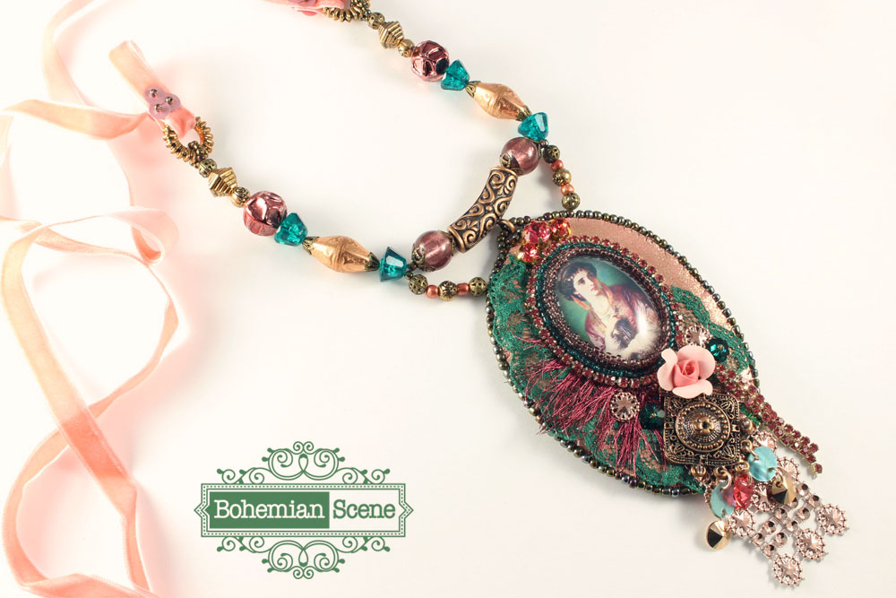 Bohemian Necklace Francis Dicksee Jessica