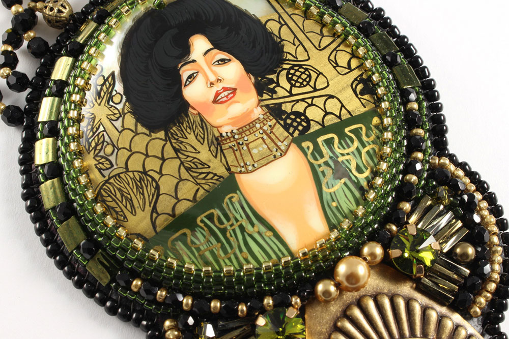 Art Nouveau Klimt Judith Green