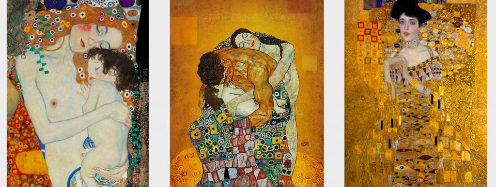 Gustav Klimt Mother and Child- Family
